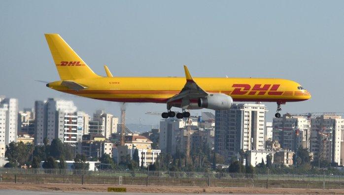 Dhl  boing 757-223 G-DHKM
